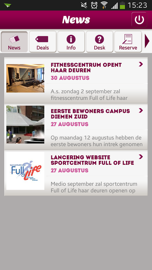 Campus Diemen Zuid - screenshot