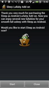 Sleep Lullaby Add-on - screenshot thumbnail