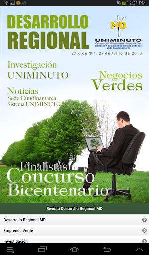 Revista Desarrollo Regional MD