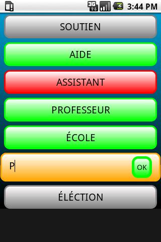 Chaine de Mots Lite- screenshot