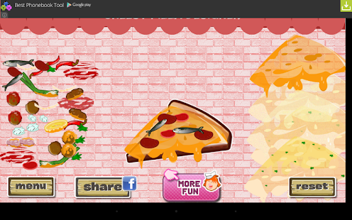Cheesy Pizza Designer- screenshot thumbnail