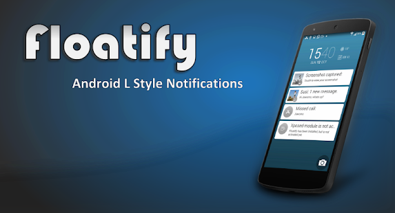 Floatify Notifications - screenshot thumbnail