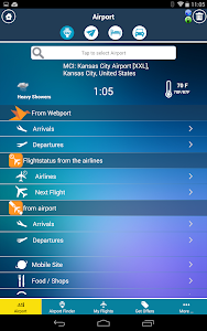 Kansas City Airport +Radar MCI screenshot 8