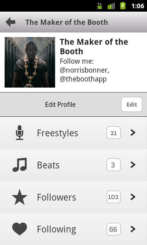 The Booth Rap Studio - screenshot