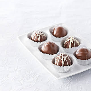 Chocolate Hazelnut Truffles.