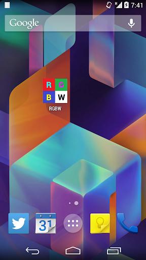 RGBW - Minimal Screen Test