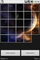 Screenshot of 15 Puzzle Space