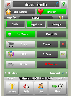 New Star Soccer - screenshot thumbnail