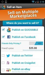 Quickable Marketplace - screenshot thumbnail