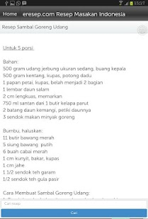 Resep Masakan- screenshot thumbnail