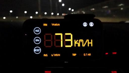簡單的HUD車速表2