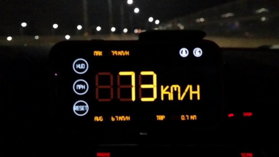 Simple Speedometer HUD2 - screenshot