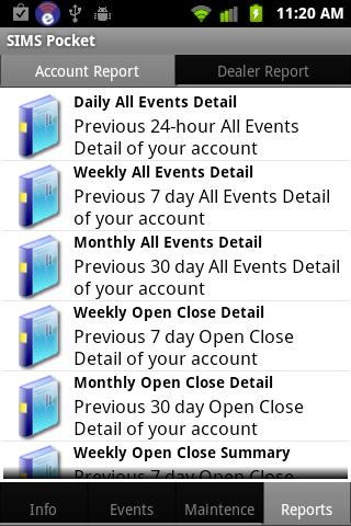 SIMS Pocket- screenshot