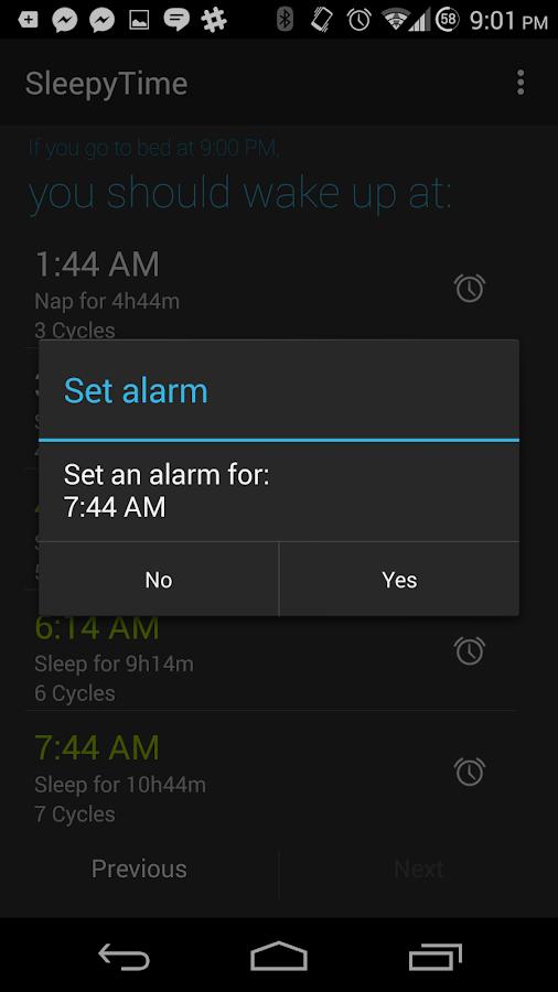 SleepyTime Plus - screenshot