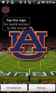 Auburn Revolving Wallpaper - screenshot thumbnail