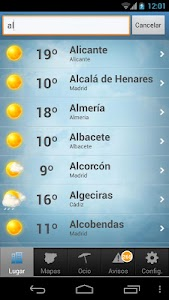 Tiempo y Temperatura screenshot 2