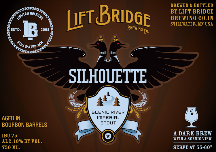 Logo of Lift Bridge Barrel Aged Silhouette