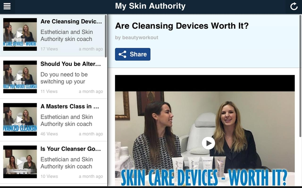 My Skin Authority- screenshot