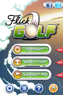 Flick Golf! Screenshot 6