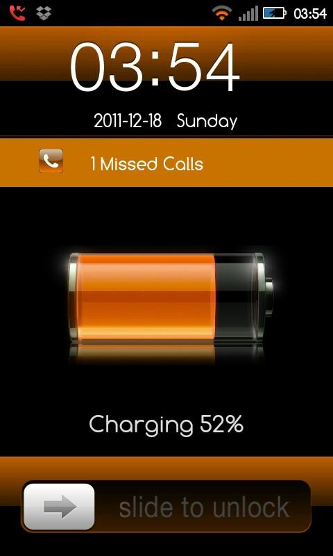 Go Locker iPhone Orange - screenshot