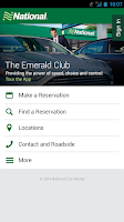 Screenshot of National Car Rental
