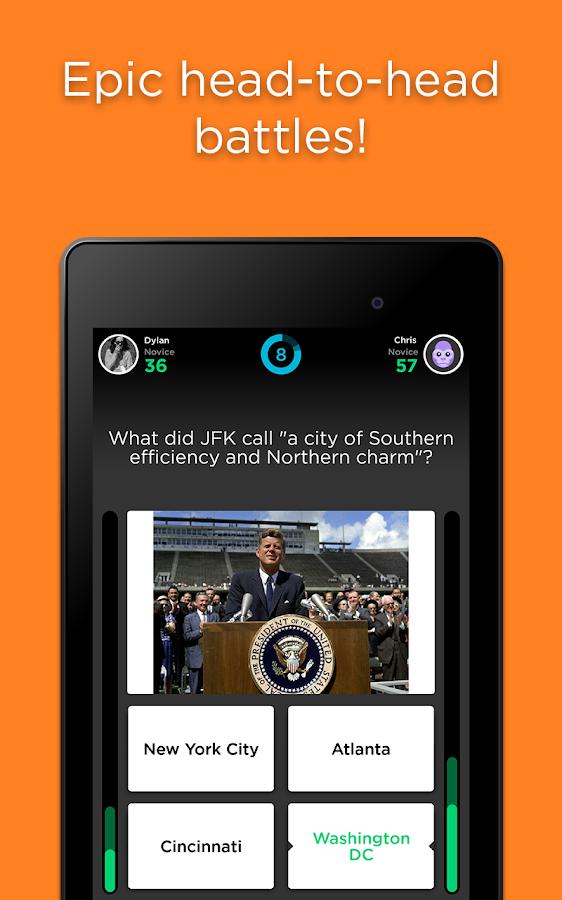 QuizUp - screenshot