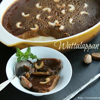 Sri Lankan Wattalappan (Treacle & Coconut Milk Flan)