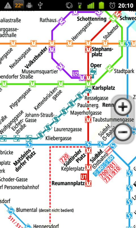 Vienna Subway - screenshot