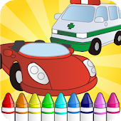 little Car Painting for kids.