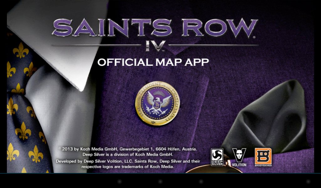 Saints Row 4 Official Map App - screenshot