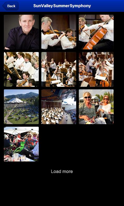 Sun Valley Summer Symphony - screenshot
