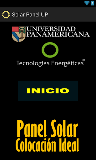 Panel Solar UP