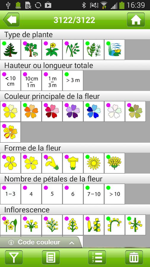 Flora Helvetica Mini français- screenshot