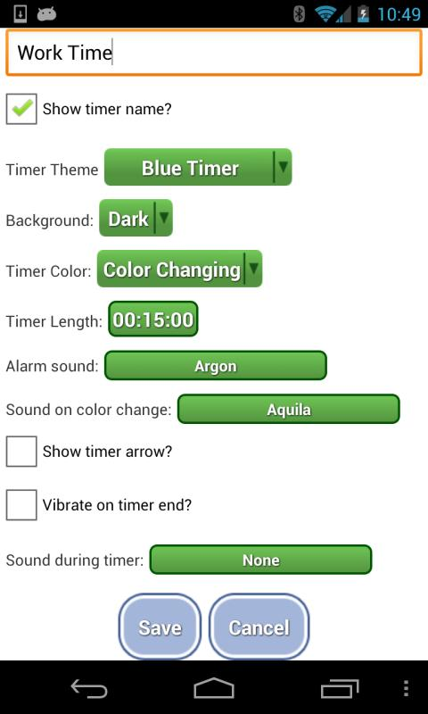 Activity Timer - Trial - screenshot