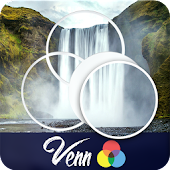 Venn Waterfalls: Circle Jigsaw