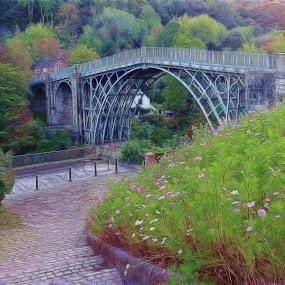Ironbridge Shropshire by Simon Alun Hark - Buildings & Architecture Bridges & Suspended Structures ( ironbridge, bridge, shropshire, telford, heritage )