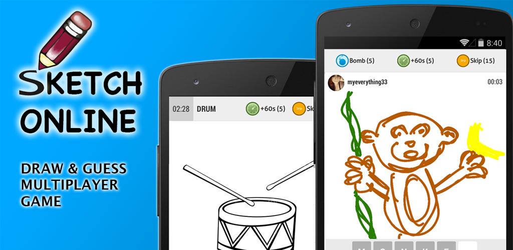 Scaricare sketch online disegna e indovinate 5 4 apk for Disegna la tua casa online