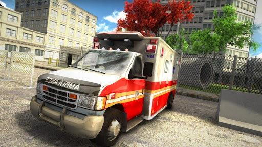 Hospital Rush Ambulance Park