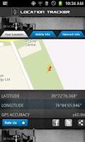 Screenshot of Location Tracker