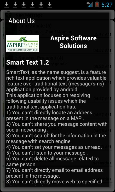 Smart Text - screenshot