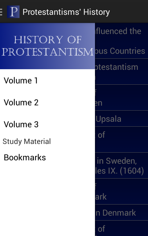 History of Protestantism- screenshot