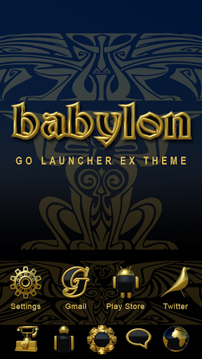 Babylon GO Launcher Theme
