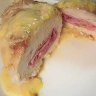 Weeknight Chicken Cordon Bleu.