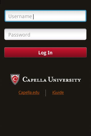 Capella Mobile - screenshot