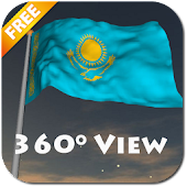 Real Kazakhstan Flag LWP