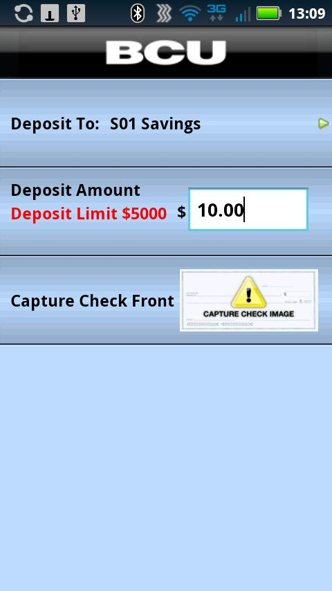 BCU Mobile Banking- screenshot