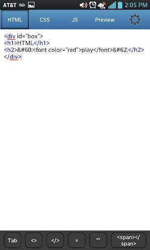 HTML play Pro
