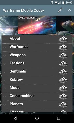 Warframe Mobile Codex