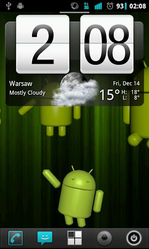 Hello Droid Live Wallpaper
