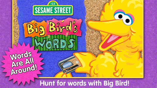 Sesame Street Big Bird's Words